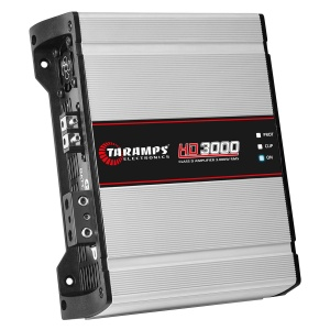 Potencia 1 Canal 3000W 1 Ohms Taramps HD3000