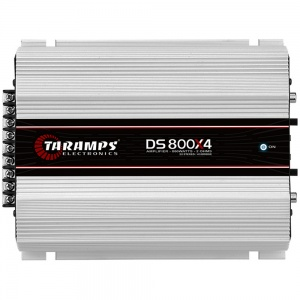 Amplificador Digital 4 Canales 800W Taramps DS800X4 1 OHM