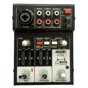 Consola de 3 Canales Con Usb Moon MC302