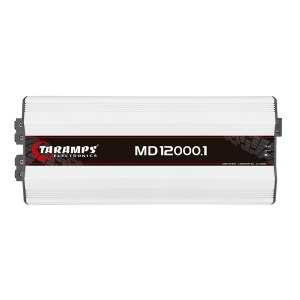 Amplificador Digital Rango Completo 1 Canal Taramps MD12000