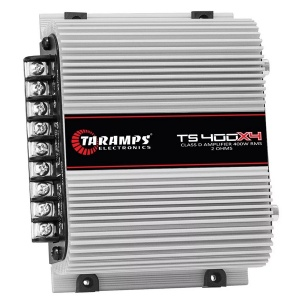 Amplificador 4 Canales 400W Taramps TS400X4