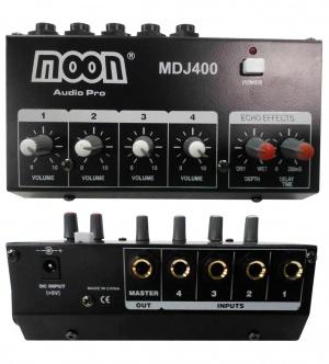 Mixer de 4 Canales Moon MDJ400