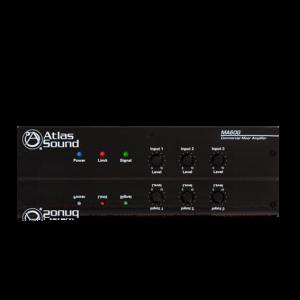 Amplificador mezclador con 3 entradas Atlas Sound MA60G