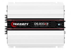 Amplificador Digital 2 Canales 800W Taramps DS800X2 2 OHMS