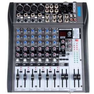 Mixer 8 Canales C/Efe Inc Moon MC806
